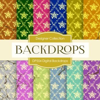 Digital Papers -  Digital Backdrops (DP554)