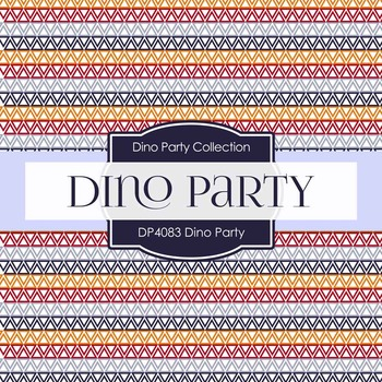 Digital Papers - Dino Party (DP4083)
