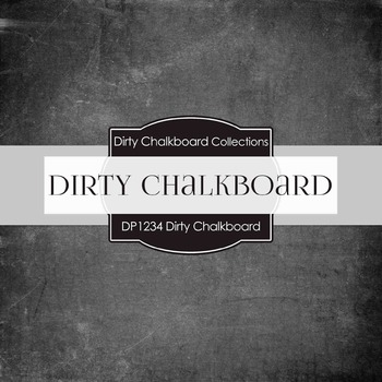 Digital Papers - Dirty Chalkboard (DP1234)