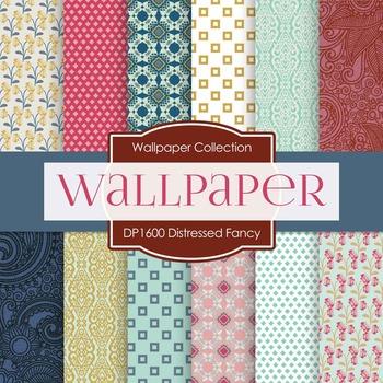 Digital Papers - Distressed Fancy (DP1600)