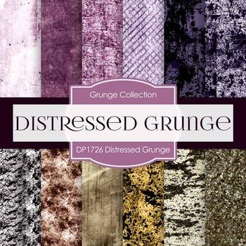 Digital Papers - Distressed Grunge (DP1726)