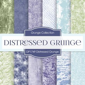 Digital Papers -  Distressed Grunge (DP1749)