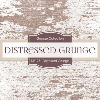 Digital Papers -  Distressed Grunge (DP1751)