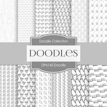 Digital Papers - Doodle (DP6142)