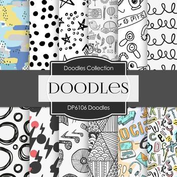 Digital Papers - Doodles (DP6106)
