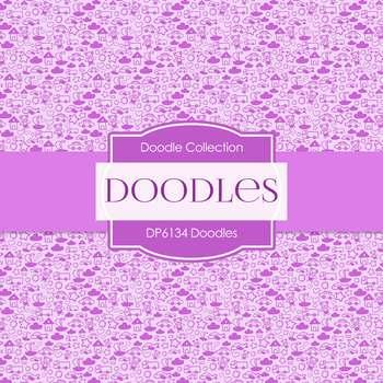 Digital Papers - Doodles (DP6134)