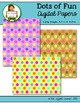 Digital Papers: Dots of Fun FREEBIE