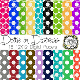 Digital Papers - Dottie in Distress {Personal or Commercial Use}