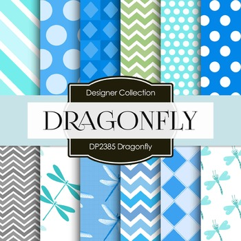 Digital Papers - Dragonfly (DP2385)