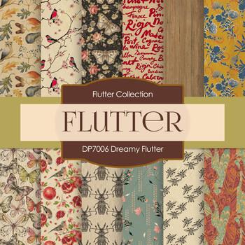 Digital Papers - Dreamy Flutter (DP7006)