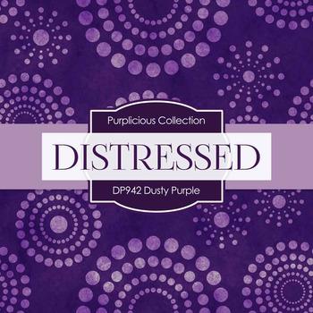 Digital Papers - Dusty Purple (DP942)