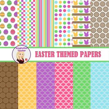Digital Papers - Easter