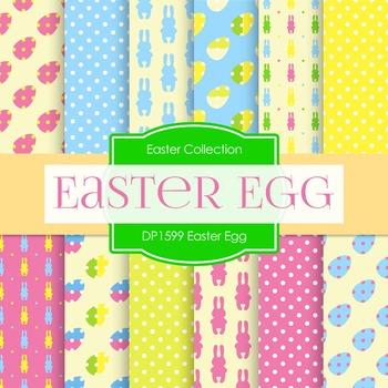 Digital Papers - Easter Egg (DP1599)