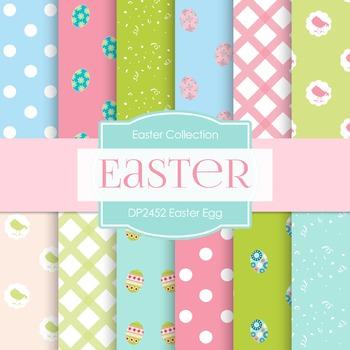Digital Papers - Easter Egg (DP2452)