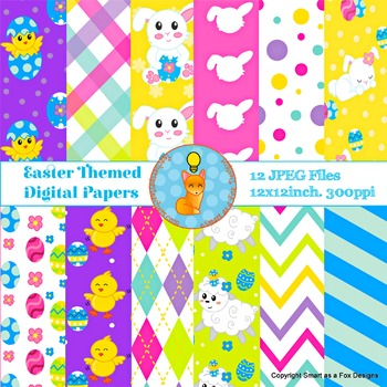 Digital Papers Easter Egg Hunt