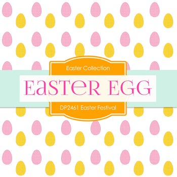 Digital Papers -  Easter Festival (DP2461)