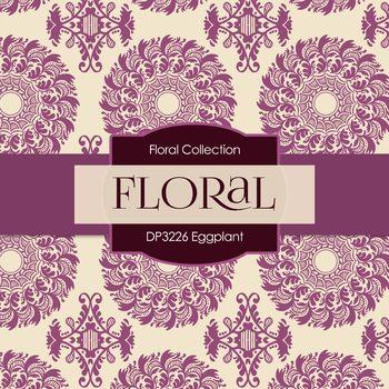 Digital Papers - Eggplant (DP3226)
