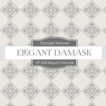 Digital Papers - Elegant Damask (DP428)