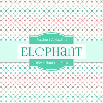 Digital Papers - Elephant Party (DP244)