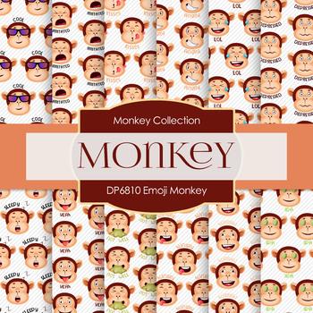 Digital Papers - Emoji Monkey (DP6810)
