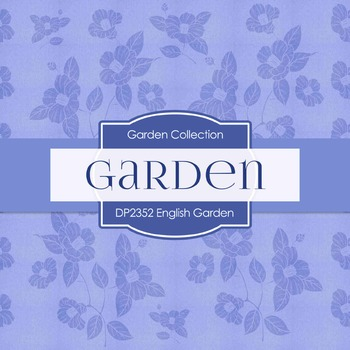 Digital Papers -  English Garden (DP2352)