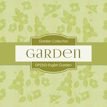 Digital Papers -  English Garden (DP2353)