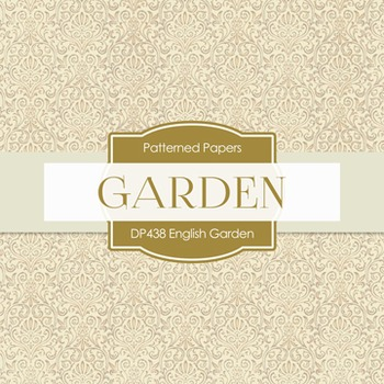 Digital Papers - English Garden (DP438)