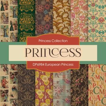 Digital Papers - European Princess (DP6984)