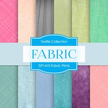 Digital Papers - Fabric Prints (DP1410)