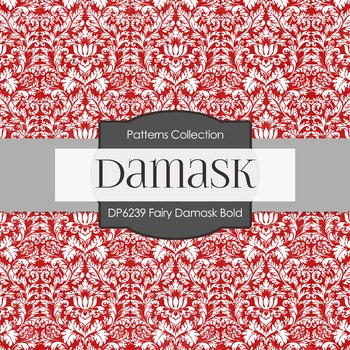 Digital Papers - Fairy Damask Bold (DP6239)