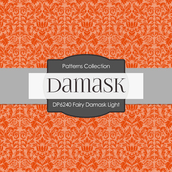 Digital Papers - Fairy Damask Light (DP6240)