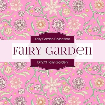 Digital Papers - Fairy Garden (DP273)