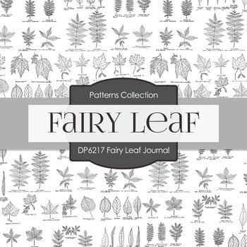 Digital Papers - Fairy Leaf Journal (DP6217)