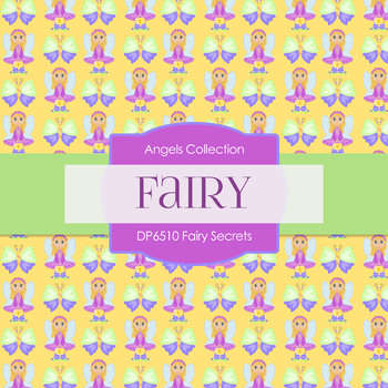 Digital Papers - Fairy Secrets (DP6510)