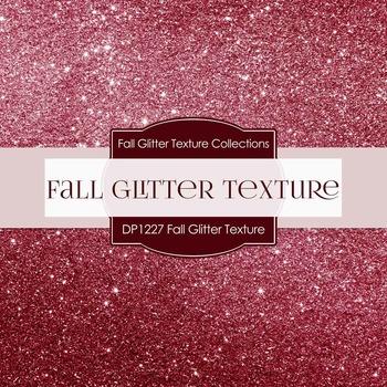 Digital Papers - Fall Glitter Texture (DP1227)