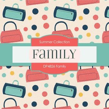 Digital Papers - Family (DP4826)