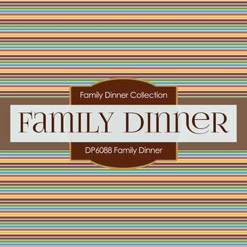 Digital Papers - Family Dinner (DP6088)