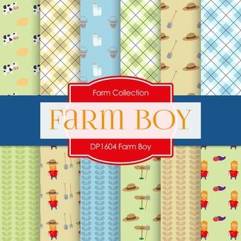 Digital Papers - Farm Boy (DP1604)