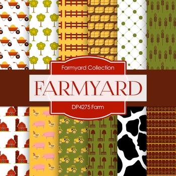 Digital Papers - Farm (DP4275)