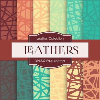 Digital Papers - Faux Leather (DP1539)