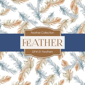 Digital Papers - Feathers (DP4131)