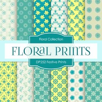 Digital Papers - Festive Prints (DP252)