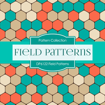 Digital Papers - Field Patterns (DP6122)