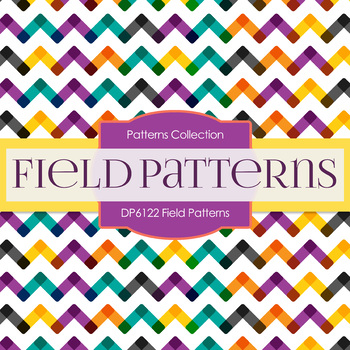 Digital Papers - Field Patterns (DP6122A)