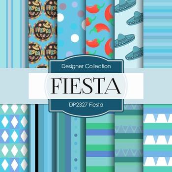 Digital Papers - Fiesta (DP2327)