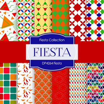Digital Papers - Fiesta (DP4264)