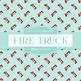 Digital Papers - Fire Truck (DP4367)