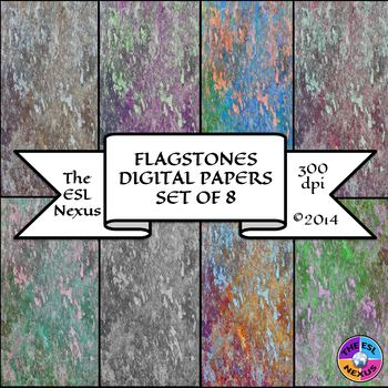 Flagstones Digital Papers