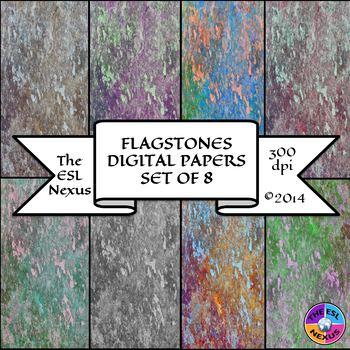 Flagstones Digital Papers