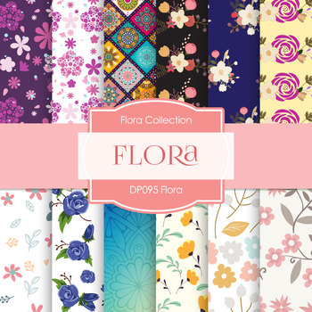 Digital Papers - Flora (DP095)